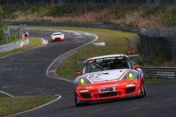 #107 Raceunion Teichmann Racing Porsche 911 Cup: Markus Palttala, Arne Hoffmeister
