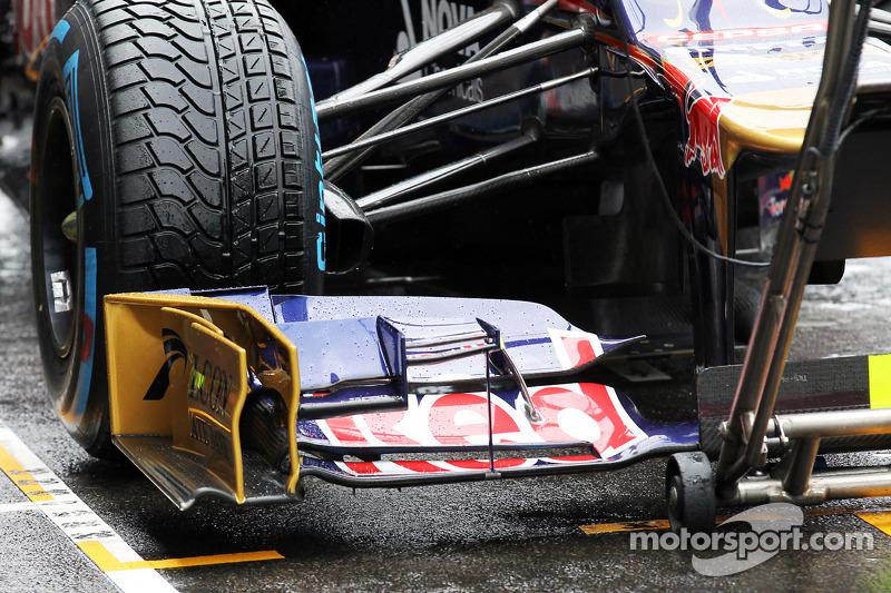 Scuderia Toro Rosso front wing