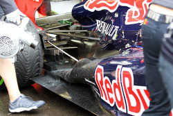 Red Bull Racing rear exhaust detail