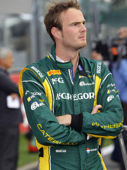 Giedo Van der Garde during red flag
