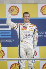 Podium: winner Josef Kral