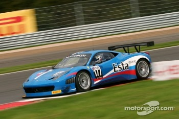 #177 Ferrari 458 Italia GT3: Aleksandr Skryabin, Alessandro Pier Guidi