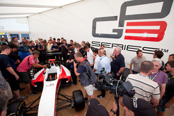 The world's media gather at the GP/13 car launch