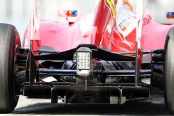 Fernando Alonso, Ferrari, rear diffuser