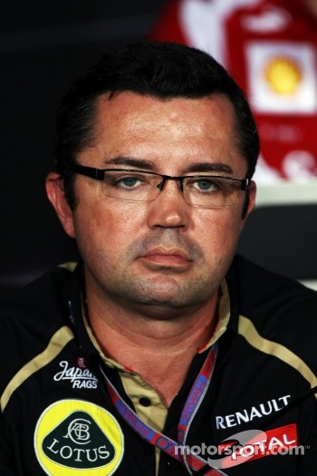 FIA press conference: Eric Boullier, Lotus F1 Team Principal