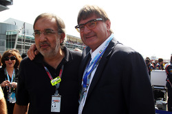 Sergio Marchionne, CEO FIAT Group, on the grid
