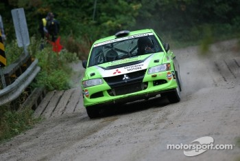 Simon Losier and Philippe Poirier, Mitsubishi EVO VIII
