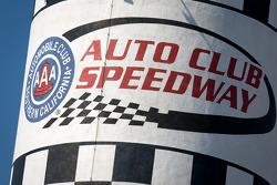 Auto Club Speedway signage