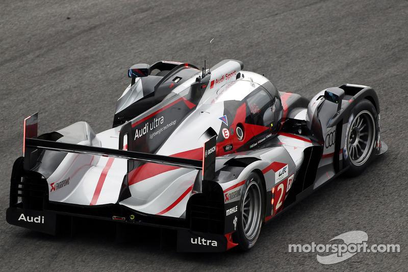 #2 Audi Sport Team Joest R18 ultra: Tom Kristensen, Allan McNish, Lucas di Grassi