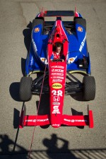 Car of Graham Rahal, Service Central Chip Ganassi Racing Honda
