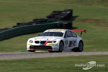 #55 BMW Team RLL BMW E92 M3: Jorg Muller, Bill Auberlen