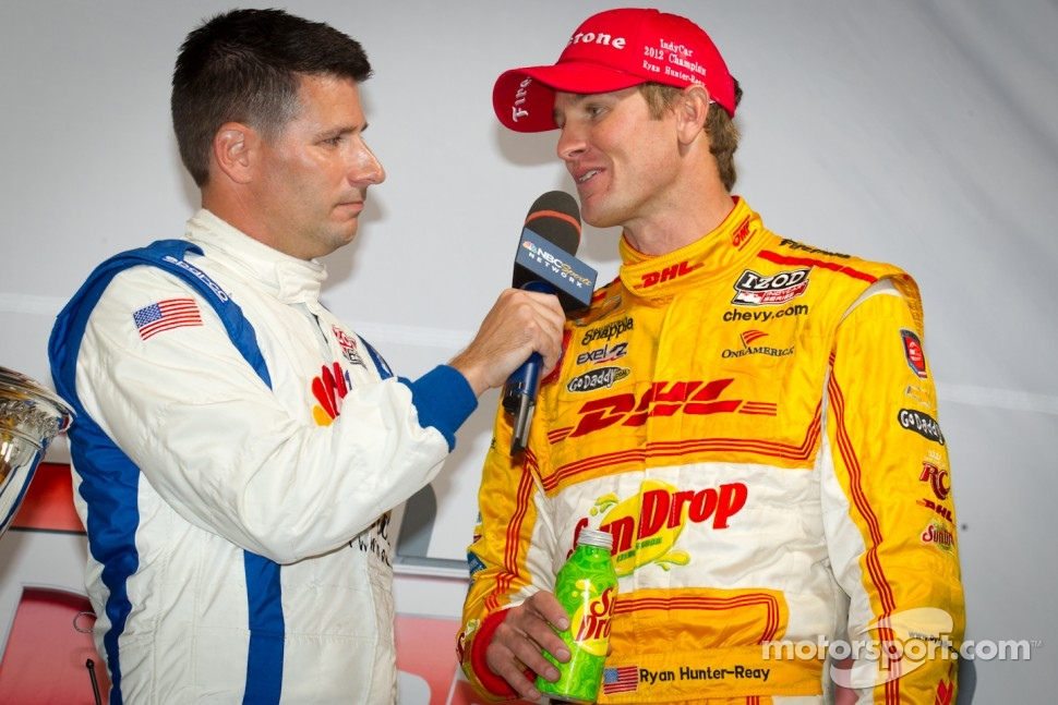 IndyCar Series 2012 champion Ryan Hunter-Reay, Andretti Autosport Chevrolet