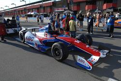 Car of Wade Cunningham, A.J. Foyt Racing Honda