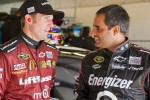Jamie McMurray and Juan Pablo Montoya