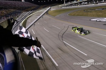 James Buescher takes the win