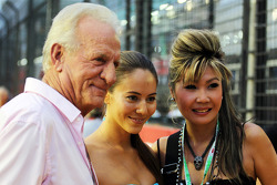 John Button, with Jessica Michibata