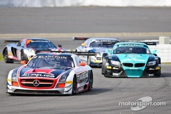 #38 All-Inkl.com Mnnich Motorsport Mercedes-Benz SLS AMG GT3: Marc Basseng, Marcus Winkelhock