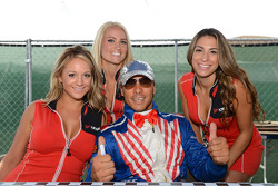Autograph session, Stefano D'aste, BMW 320 TC, Wiechers-Sport and Grid Girls