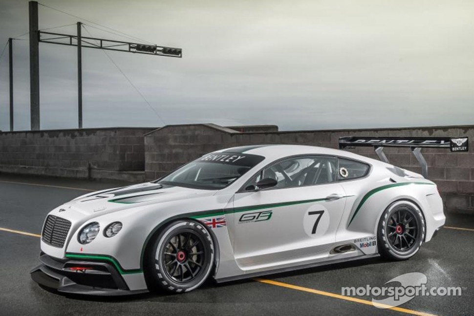 The Bentley GT3