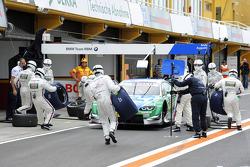 Augusto Farfus Jr., BMW Team RBM BMW M3 DTM; tyres
