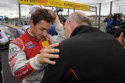 Filipe Albuquerque, Audi Sport Team Rosberg; Dr. Wolfgang Ullrich, Audi's Head of Sport
