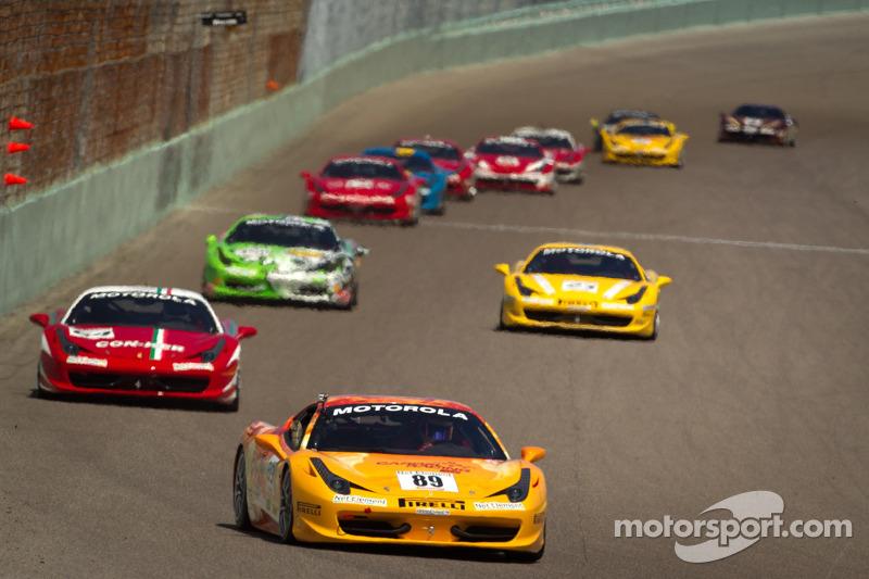 #89 Ferrari of Ontario 458CS: Ryan Ockey
