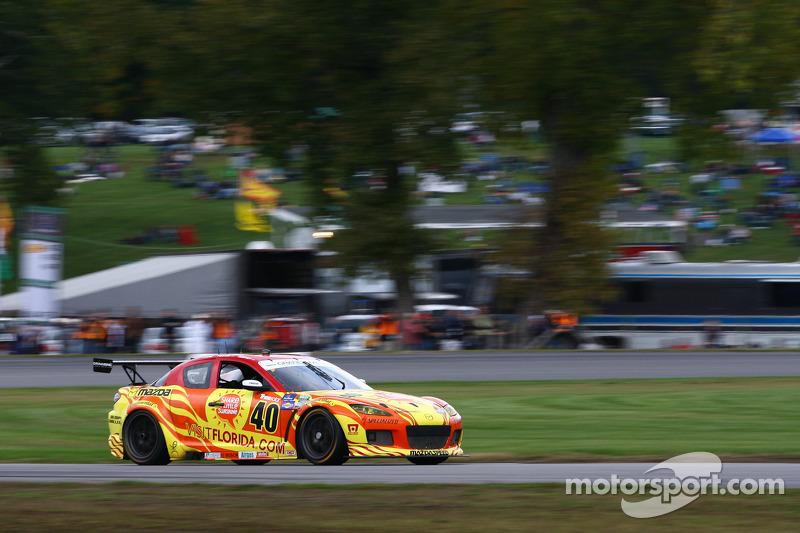 # 40 Dempsey Racing Visit Florida Mazda RX-8:  Joe Foster, Tom Long