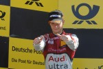 Podium: second place Adrien Tambay, Audi Sport Team Abt