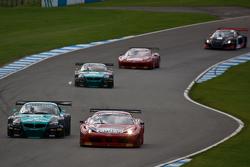 #3 AF Corse Ferrari 458 Italia: Filip Salaquarda, Marco Cioci #18 BMW Team Vita4one BMW Z4 GT3: Michael Bartels, Yelmer Buurman
