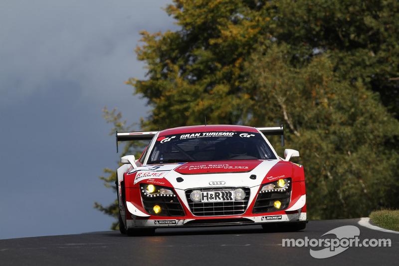 #5 Audi Sport Team Phoenix Audi R8 LMS ultra: Christer Jöns, Luca Ludwig