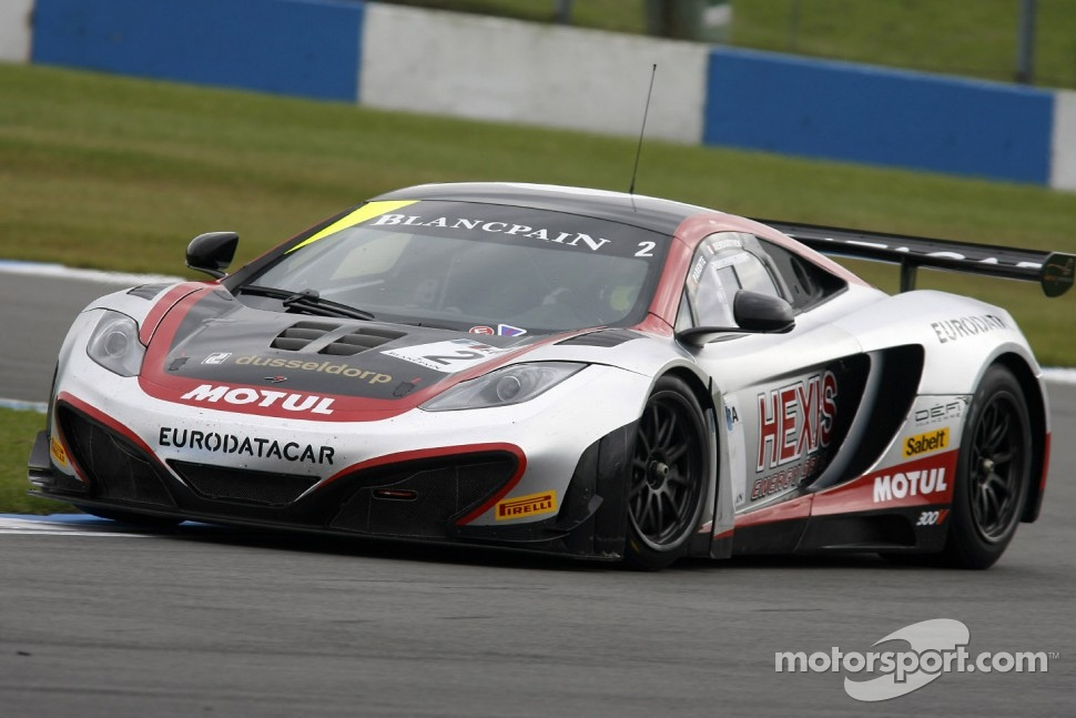 #2 Hexis Racing McLaren MP4-12C GT3: Alvaro Parente, Gregoire Demoustier