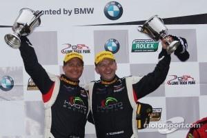 Winners Jayson Clunie and Pierre Kleinubing
