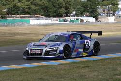 #42 Saintéloc Racing Audi R8 LMS: Patrice Madeleine; Pierre Hirschi