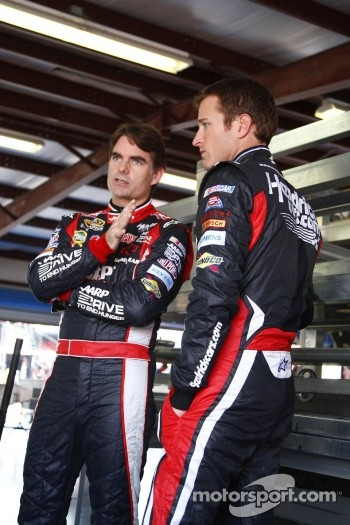 Jeff Gordon and Kasey Kahne