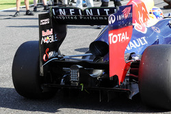 Mark Webber, Red Bull Racing rear wing detail