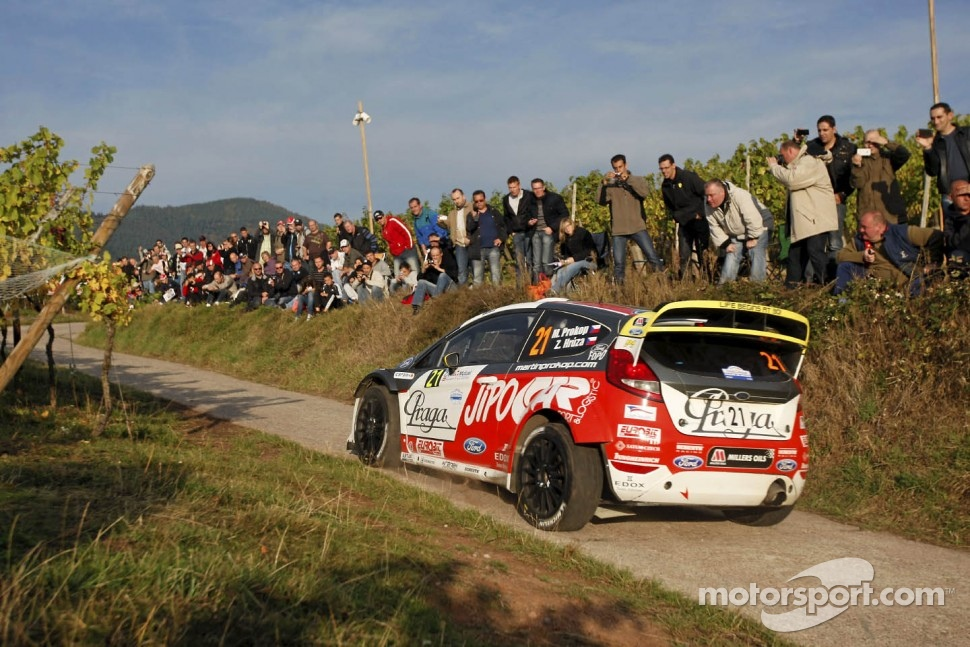 Martin Prokop and Jan Tomanek, Ford Fiesta RS WRC