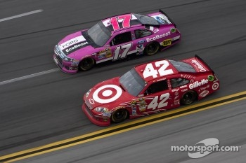 Juan Pablo Montoya and Matt Kenseth