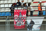 Banners for Mark Webber, Red Bull Racing and Sebastian Vettel, Red Bull Racing