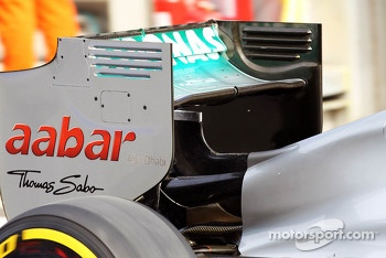 Mercedes AMG F1 rear wing