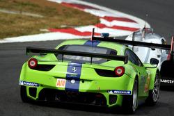 #57 Krohn Racing Ferrari F458 Italia: Nic Jonsson, Tracy Krohn, Michele Rugolo