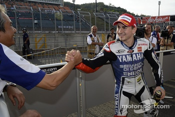 Pole winner Jorge Lorenzo, Yamaha Factory Racing