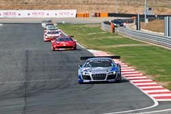 #40 Sainteloc Racing Audi R8 LMS ultra: Gregory Guilvert, Jonathan Hirschi, Dino Lunardi