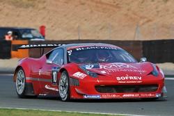 #10 Sofrev ASP Ferrari 458 Italia: Maurice Ricci, Gabriel Balthazard, Jerome Policand