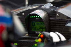 Instrument panel of the #055 Level 5 Motorsports HPD ARX-03b HPD