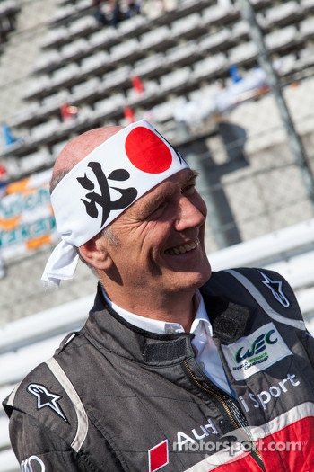 Wolfgang Ulrich enjoying Japan