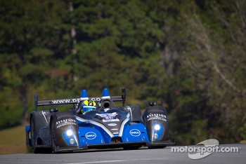 #52 PR1 Mathiasen Motorsports Oreca FLM09: Ken Dobson, Rudy Junco, Elton Julian