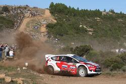 Evgeny Novikov and Denis Giraudet, Ford Fiesta RS WRC