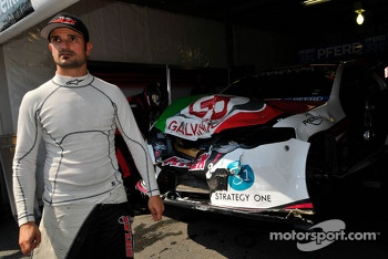 Vitantonio Liuzzi after big accident