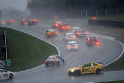 Chris James, ES Racing spins