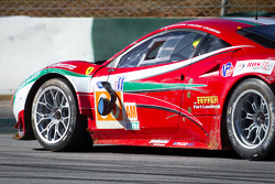 Mirror issue for #60 AF Corse Ferrari F458 Italia: Piergiuseppe Perazzini, Marco Cioci, Matt Griffin